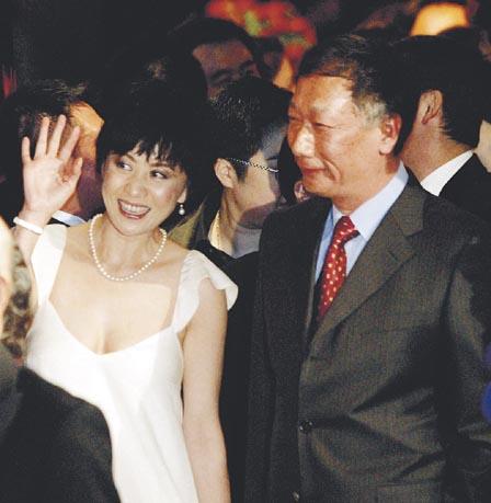郭台铭与刘嘉玲难道只是闹着玩?