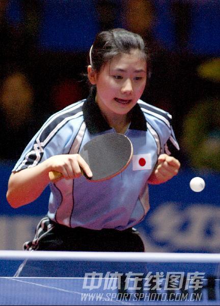 第47届世乒赛资料图片 日本女队队员福原爱