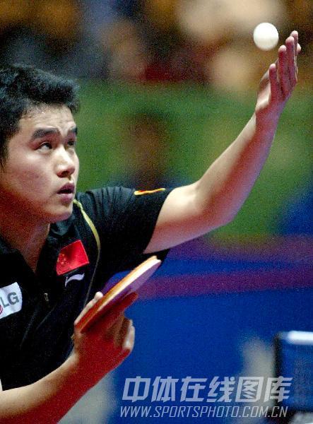 体育:[乒乓球]47届世乒赛发球刘国正回顾-搜狐图文体育足球网站图片