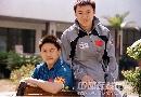 图文:[乒乓球]47届世乒赛回顾 马琳灿烂笑容
