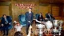 第47届世乒赛资料图片 李志坚在欢迎仪式上讲话