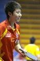 图文:中国乒乓队赛前训练 郭跃边说边笑