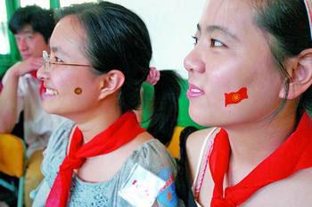 """""""好学生""""的脸上多了一面小红旗。"""