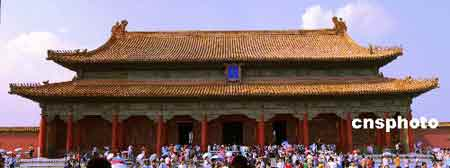 世界文化遗产--北京故宫。 中新社发 田竞 摄