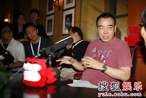 陈凯歌接受搜狐娱乐独家专访