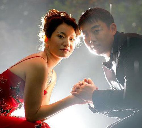 图文:乒乓球员的爱情故事 刘国梁和爱妻王瑾
