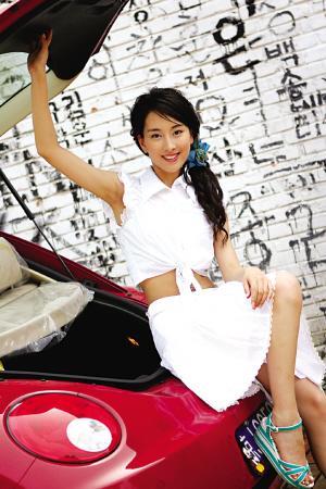 图文:乒乓球员的爱情故事 青春靓丽的马苏