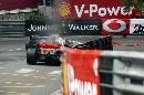 组图:[F1]06年摩纳哥站回顾 莱科宁赛车出故障