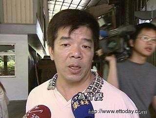 问政风格犀利的亲民党籍台北县议员吴善九。(台湾东森新闻图片)