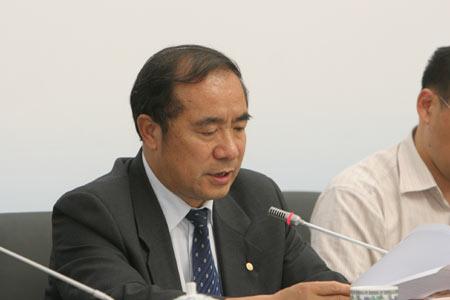 图文:残奥会体育图标揭晓 奥组委文化部部长