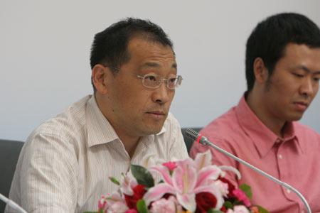 图文:残奥会体育图标揭晓 残奥部副部长王炳�D