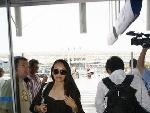 子怡在尼斯机场