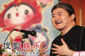 音乐巨匠刘欢激情创作百集动画片《福娃奥运漫游记》主题歌