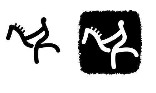 图文:北京残奥会体育图标正式揭晓 马术