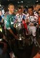 图文:AC米兰称雄欧冠 巴西帮庆祝冠军
