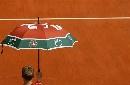 图文:法网精彩历史组图 法网的标志雨伞