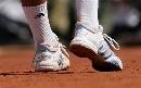 图文:法网精彩历史组图 球员的球鞋特写