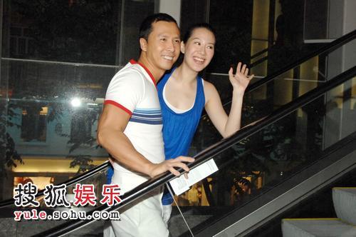 甄子丹与老婆