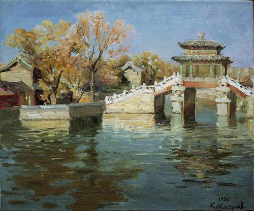 马克西莫夫油画作品 10图片