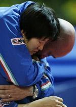 痛失03欧洲杯女单冠军曾失声痛哭