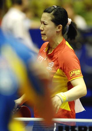 王楠已无法打破自己与邓亚萍并列的世乒赛纪录