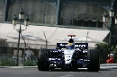 图文:[F1]摩纳哥站练习赛 罗斯伯格准备入弯
