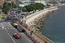 图文:[F1]摩纳哥站练习赛 马萨驶过弯角