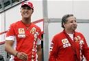 图文:[F1]摩纳哥站排位赛 舒马赫与托德