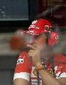 图文:[F1]摩纳哥站排位赛 舒马赫在场边