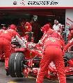 图文:[F1]摩纳哥站排位赛 莱科宁退出比赛