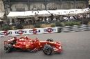 图文:[F1]摩纳哥站排位赛 莱科宁驶入弯道