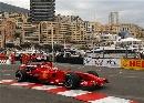 图文:[F1]摩纳哥站排位赛 莱科宁驶出弯道