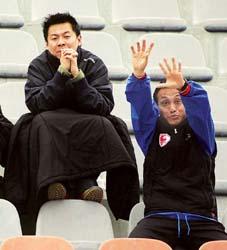 在朱骏的眼里申花依然是亚洲最强的球队