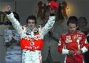 图文:[F1]阿隆索称雄摩纳哥站  马萨有点郁闷