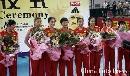 图文:女排精英赛及颁奖仪式 中国女排意气风发