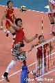图文:女排精英赛及颁奖仪式 中国队进攻犀利