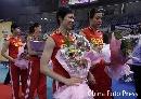 图文:女排精英赛及颁奖仪式 周苏红笑容满面