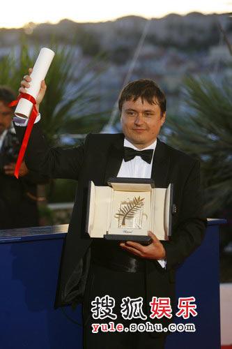 《四月三周两天》获最佳影片金棕榈大奖