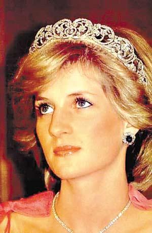 小图为戴安娜王妃。(资料图片)