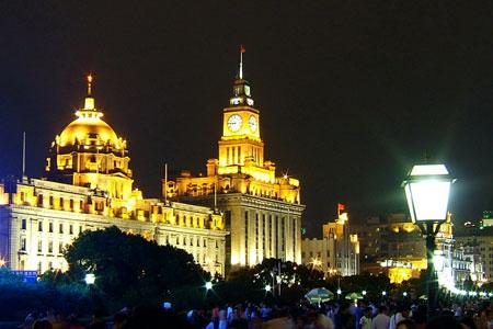 资料图:美丽的上海外滩