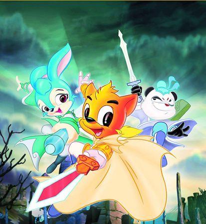 《虹猫蓝兔七侠传》早前因内容暴力遭停播