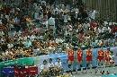 图文:宁波站中国3比0荷兰 现场球迷支持
