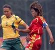 女足2-2澳大利亚