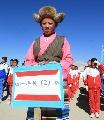 图文:07地球第三极珠峰大行动 定日中学运动会