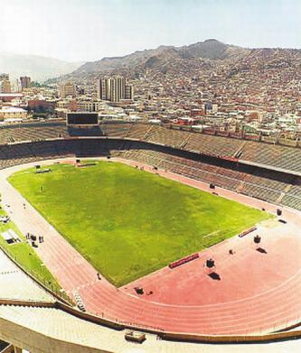 玻利维亚的拉巴斯球场