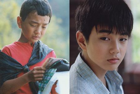 俞承豪从一个小朋友长成小男子汉图片