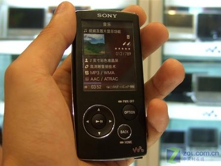 索尼首款视频机到货 NW-A800售1599元