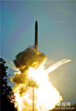 俄罗斯5月29日成功试射新型多弹头洲际弹道导弹。