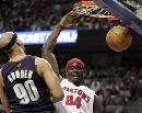 图文:[NBA]骑士VS活塞  古登努力防守