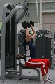 图文:王一梅杨昊恢复性训练 王一梅力量训练